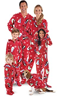 PajamaGram Onesie Winter Whimsy Matching Family Pajamas