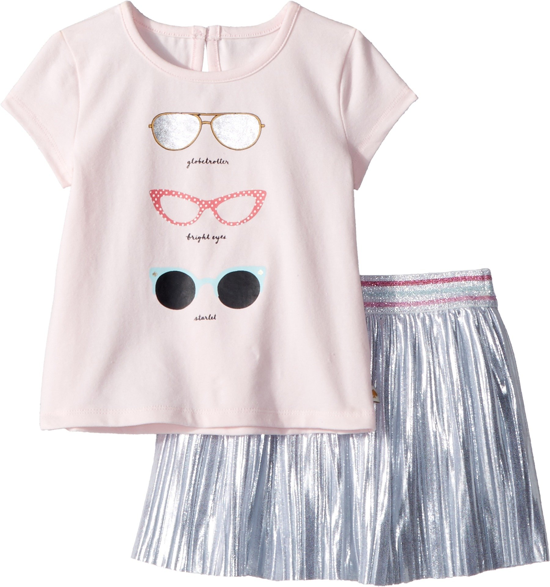 Kate Spade New York Kids Baby Girl's Sunglasses Skirt Set (Infant) Sonata Pink 24 Months by Kate Spade New York