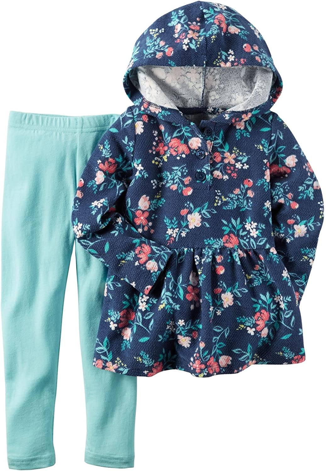 Carters Baby Girls 2 Pc Playwear Sets 239g228