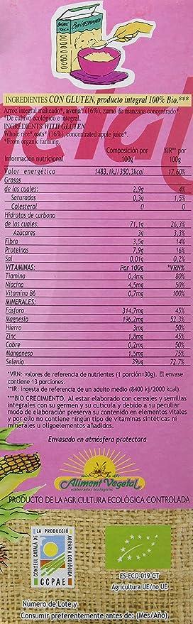 PAPILLA DULCE AVENA C/G 400 gr: Amazon.es: Alimentación y bebidas