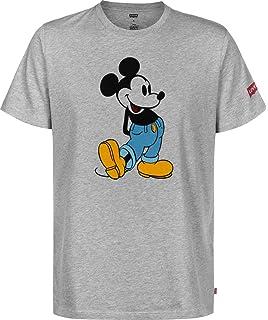 Camiseta Levis Graphic Setin Mickey Gris De Hombre
