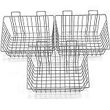 Proslat 13022 15-Inch x 12-Inch Ventilated Wire Basket Designed for PVC Slatwall, 3-Pack