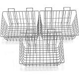 Proslat 13022 15-Inch x 11-Inch Ventilated Wire Basket Designed for Proslat PVC Slatwall, 3-Pack