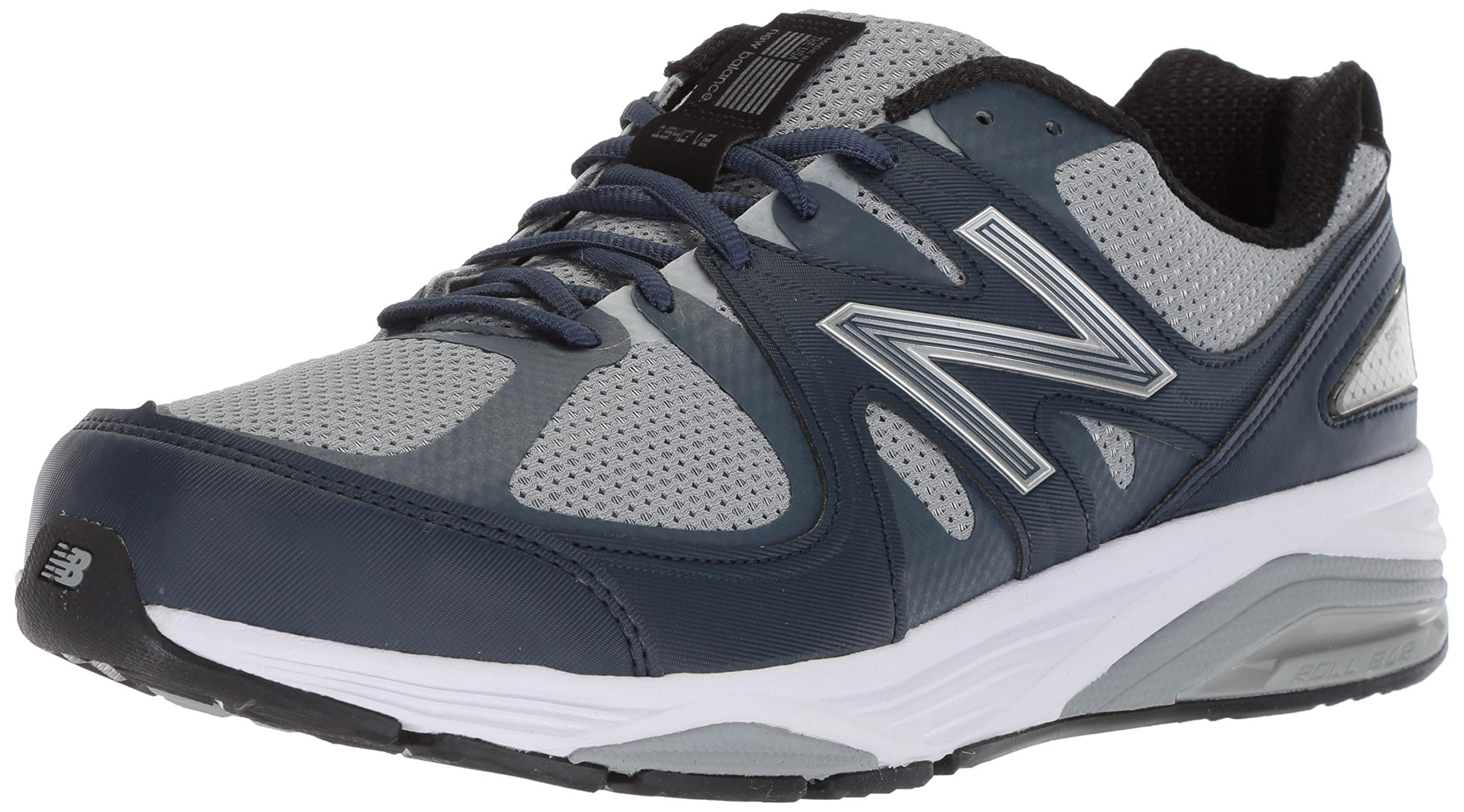 New Balance Men's M1540V2 Running Shoe, Grey/Navy, 11.5 6E US