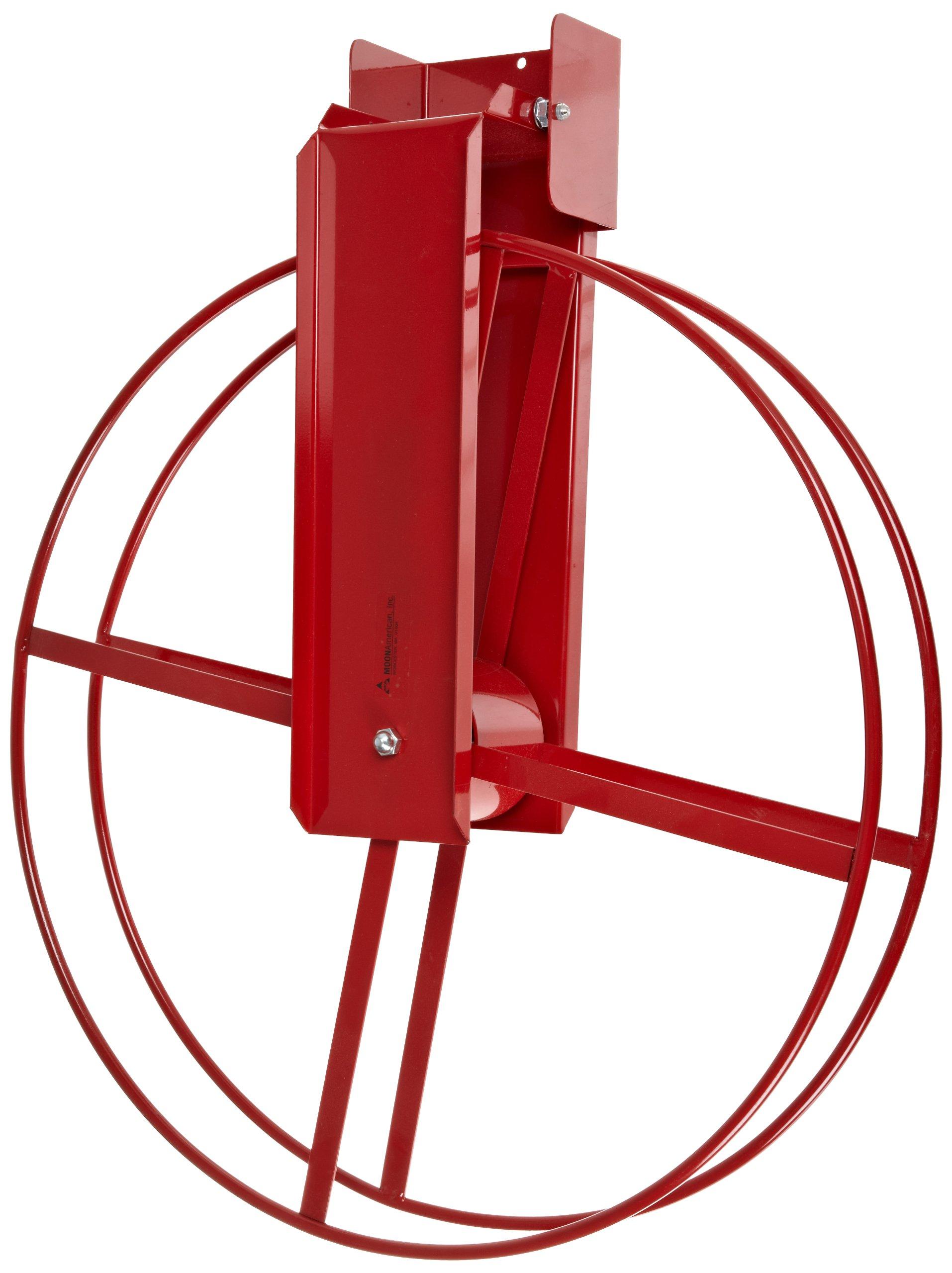 Moon American 1431-3 Standard Fire Hose Reel, Steel, for 1-1/2'' x 100' Hose
