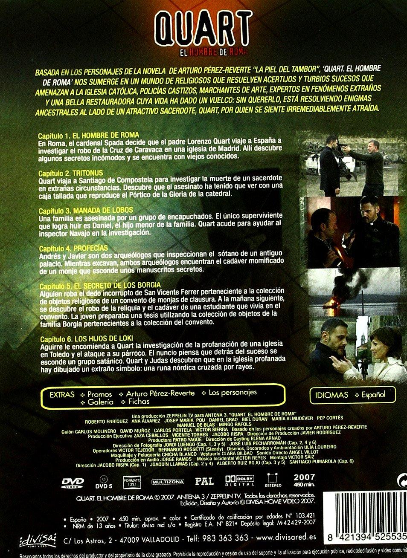 Quart: El Hombre De Roma - La Serie Completa [DVD]: Amazon.es ...