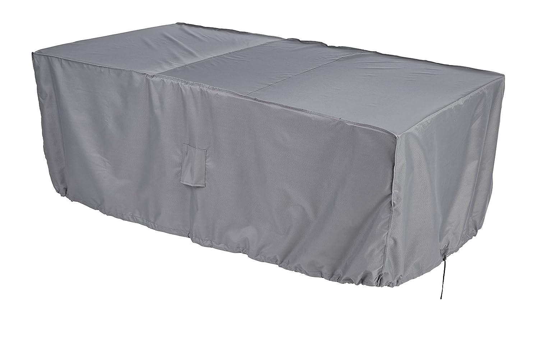 color beige Gardman 35867 Funda para mesa rectangular de 6 personas
