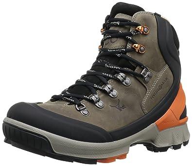 ECCO Mens Biom Hike 1.3 High Hydromax, 811524, Black/Warm grey/Burnt
