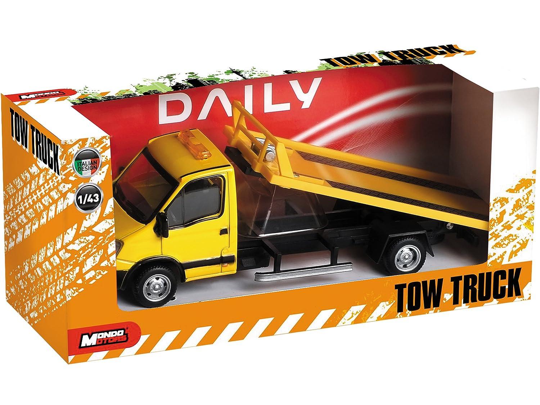 Mondo Motors - Camión grúa de juguete, escala 1:43, modelo Iveco ...