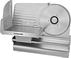 Kalorik 200-Watt Electric Meat Slicer with 7.5