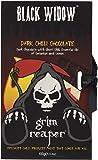 Grim Reaper Black Widow Ghost Chilli Dark Chocolate Bar 100 g