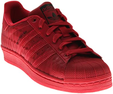 fdc776483 Adidas S76353  Originals  Superstar Boys  Big Kid Sneakers Ray Red Ray Red