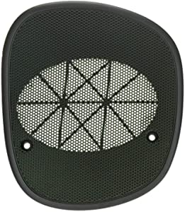 ECOTRIC New Driver Graphite Dash Speaker Cover Grille Grill Left for 98-05 GMC Jimmy Sonoma Chevrolet S10 Blazer Bravada