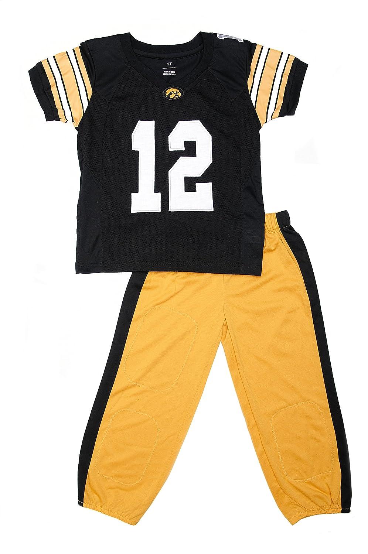 Fast Asleep Iowa Hawkeyes Uniformパジャマセット新しい B07F7CGYNG  7T