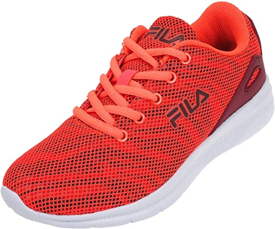 amazon fila casual zapatillas Naranja