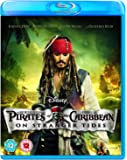 Pirates of the Caribbean: On Stranger Tides Blu Ray