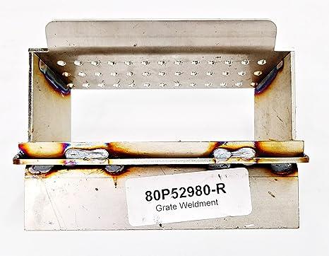 Croix ~ Even Temp Burn Pot  Weldment Pellet Stove 80P52980-R ~ 20214 St
