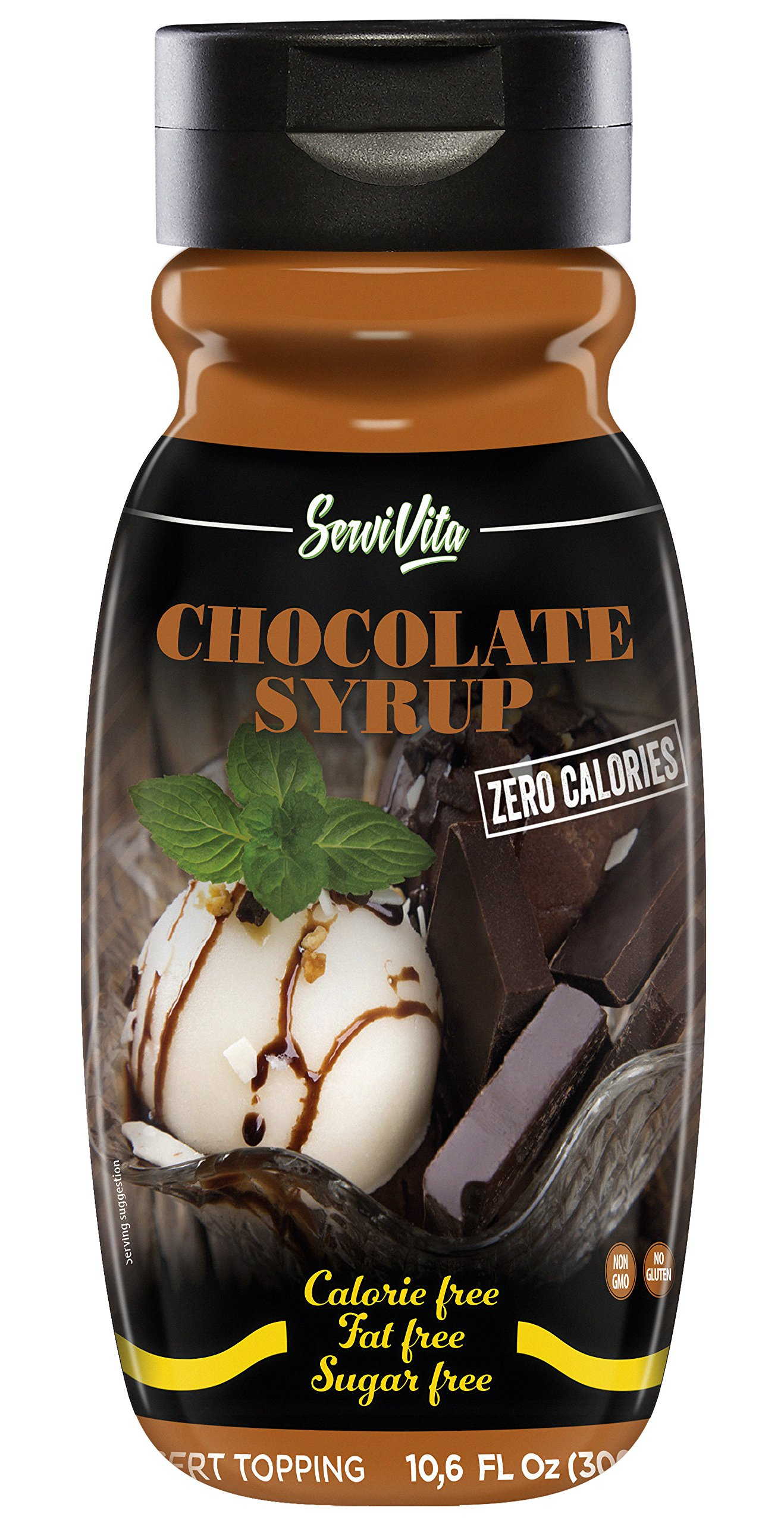 SERVIVITA ZERO CALORIES CHOCOLATE SYRUP 10.6 FL Oz