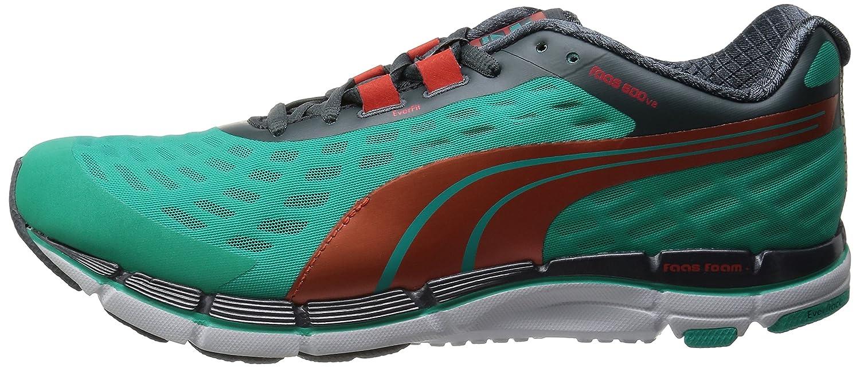 Pumas Faas Chaussures De Course De 600 V2 Hommes Piscine Vert / Grenadine F8UQNBMuK