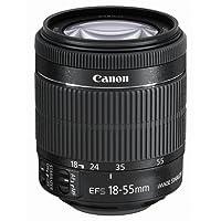 Canon EF-S 18-55mm 1:3,5-5,6 IS STM Objektiv (58mm Filtergewinde) schwarz