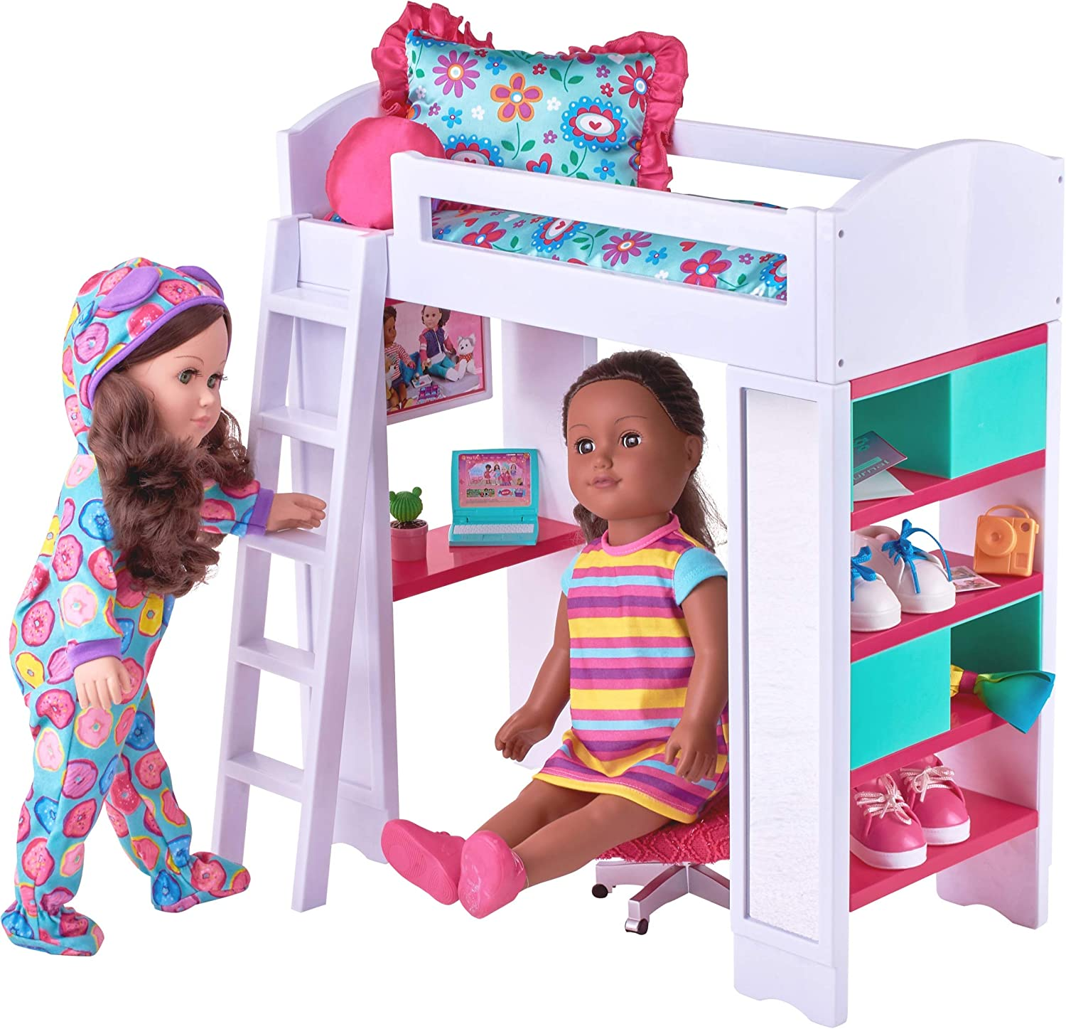 My Life As Loft Bed Furniture For Doll Furniture Amazon Canada