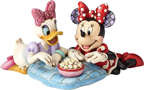 Disney Traditions by Jim Shore Minnie Mouse and Daisy Duck Stone Resin Figurine, 4