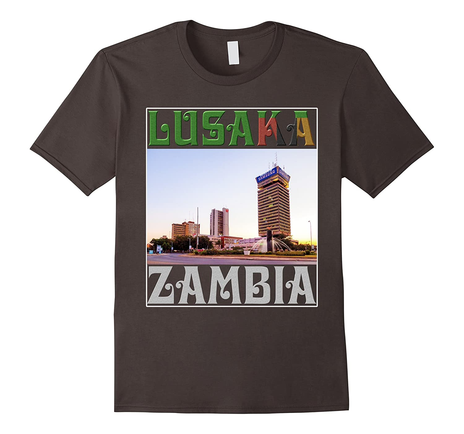 My story begins in Lusaka Zambia Shirts-FL