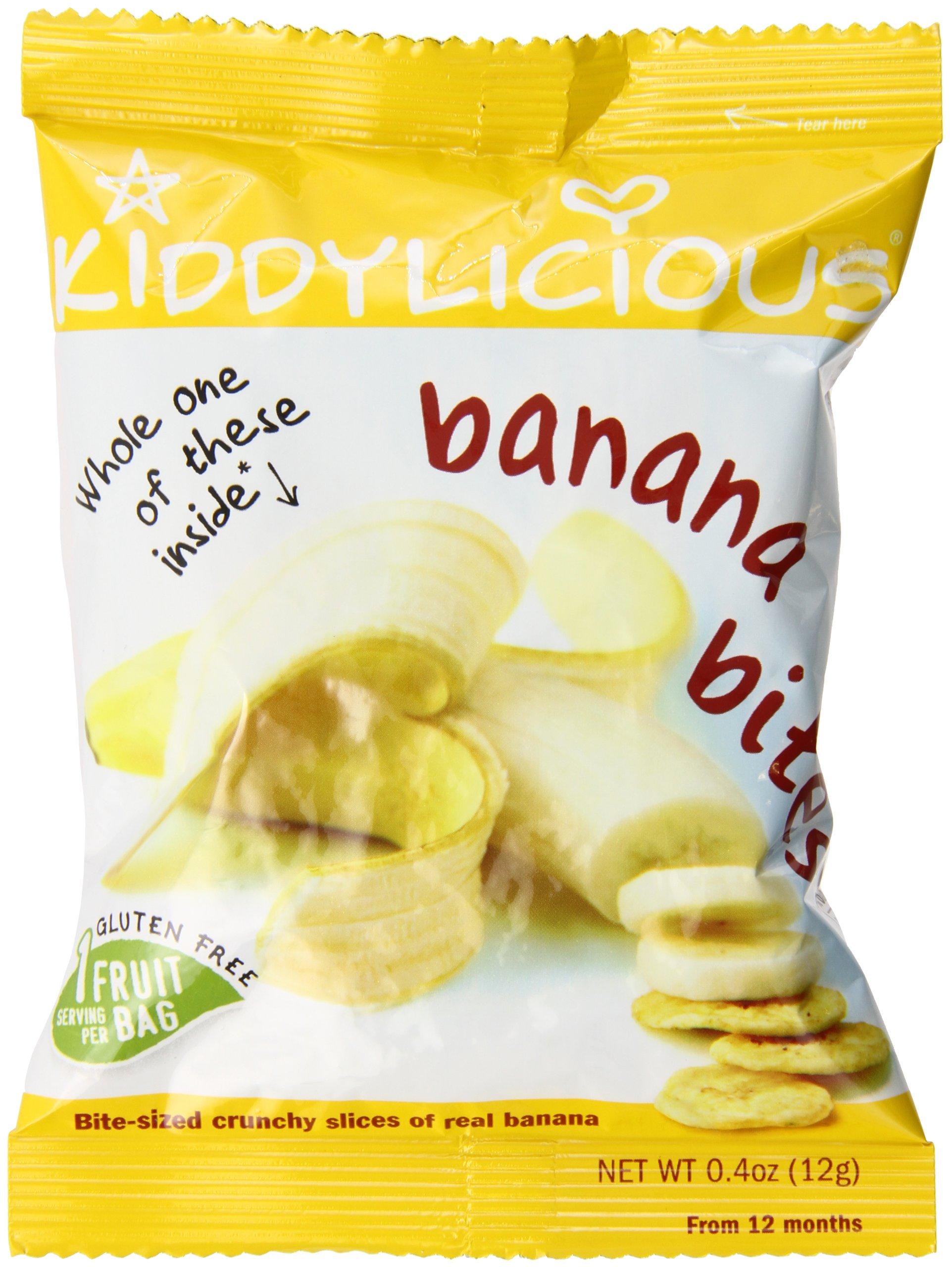 Kiddylicious, Banana Bites , 10.2 oz (24 bags)
