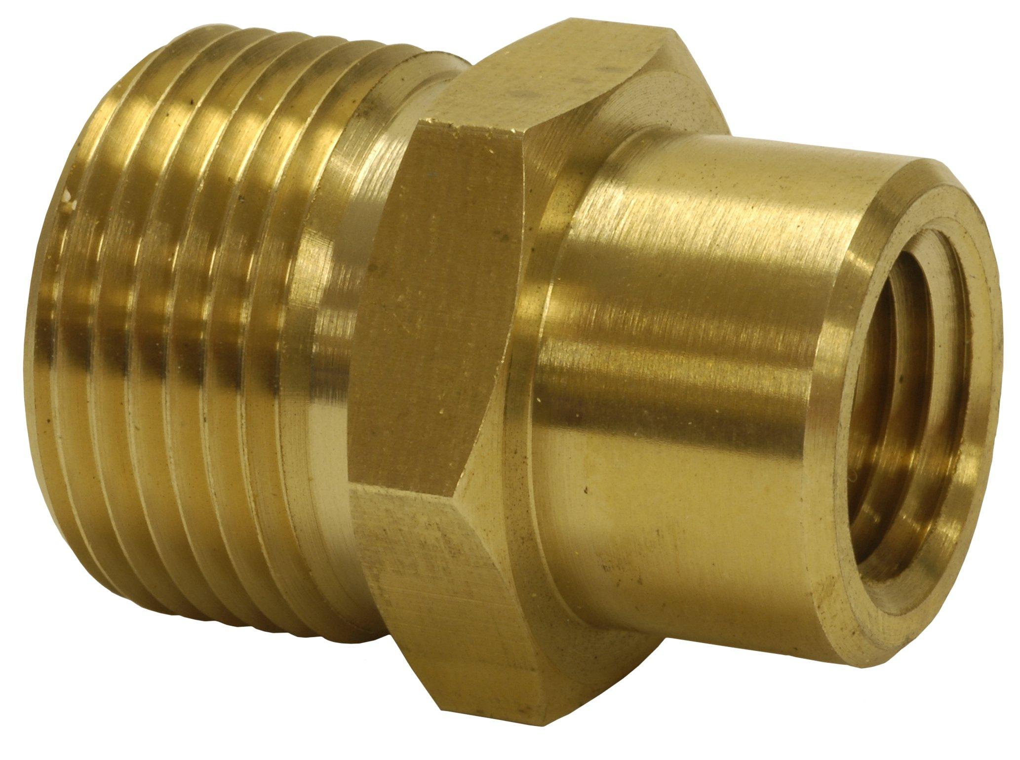 Hot Max 29004 M22M x 1/4-Inch Pressure Washer Screw Nipple