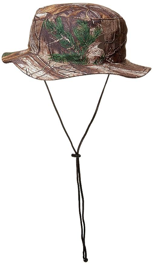 315178fe539f3 Amazon.com  Under Armour Men s Camo Bucket Hat