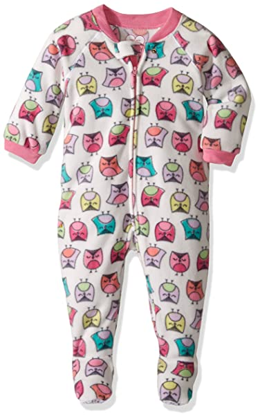 43fb4c254d6b Amazon.com  The Children s Place Girls  Cozy Fleece Onesie  Clothing