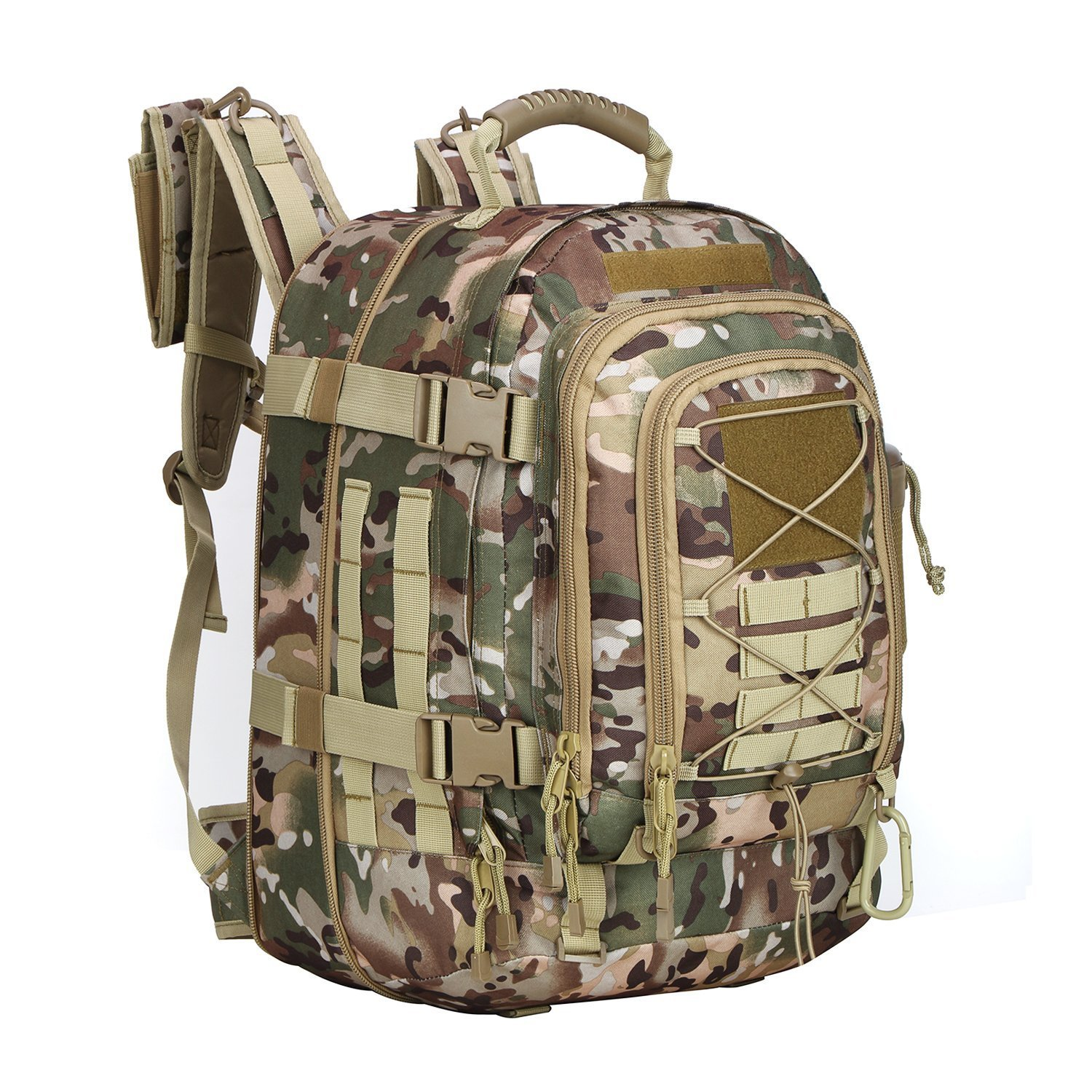 ARMYCAMOUSA [Promotions] 40L Outdoor Expandable Tactical Backpack Military Sport Camping Hiking Trekking Bag [Factory Store] (OCPC 08001)
