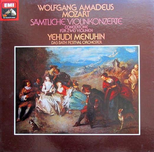 Mozart: Sämtliche Violinkonzerte (& Concertone für zwei Violinen) [Vinyl Schallplatte] [4 LP Box-Set]