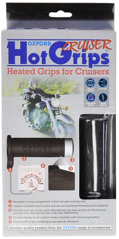 Oxford Of768z Heaterz Atv Heated Handlebar Grips Automotive Harley Wiring Diagram 2014