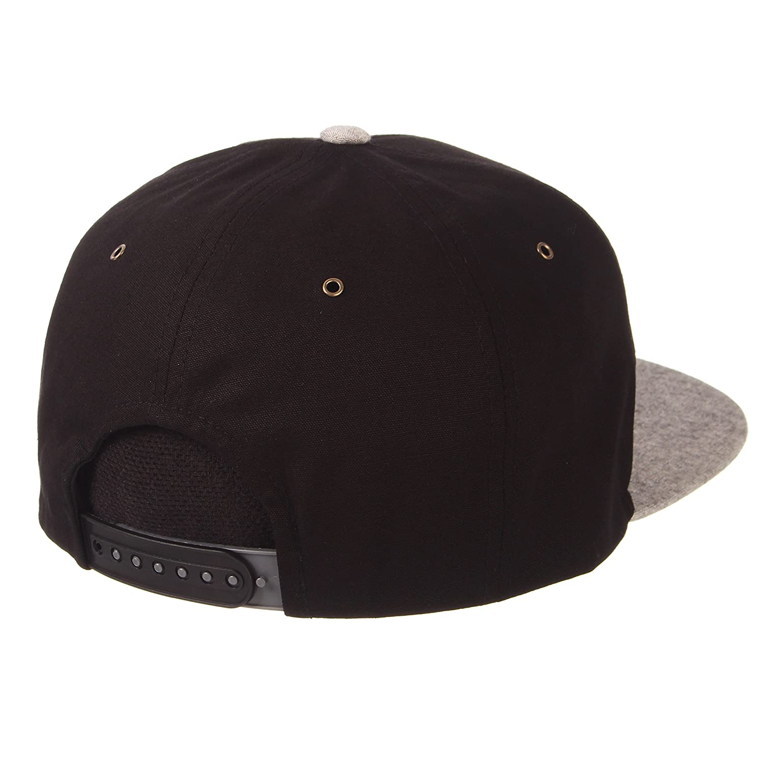 Black//Grey Adjustable Zephyr Mens Boss Snapback Hat