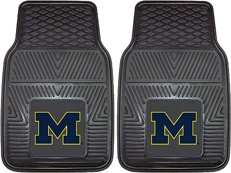 FANMATS NCAA University of Michigan Wolverines Vinyl Heavy Duty Car Mat