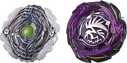 Hasbro Beyblade Burst Turbo SlingShock Dual Pack Yegdrion Y4 /& Morrigna M4