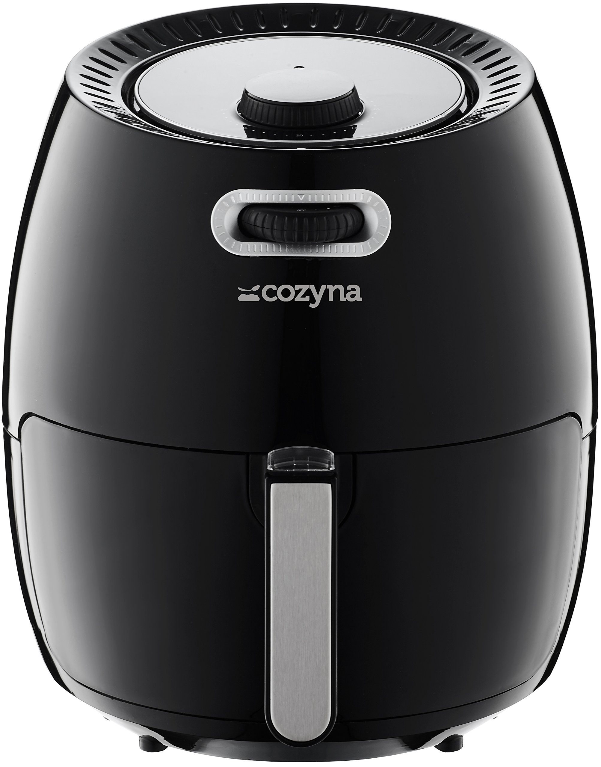 Air Fryer XL by Cozyna (5.8QT) with airfryer cookbook (over 50 recipes) and a basket divider by Cozyna (Image #5)