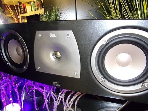 JBL N-Center 2-Way Center-Channel Speaker Single Speaker, Dark Gray Discontinued by Manufacturer