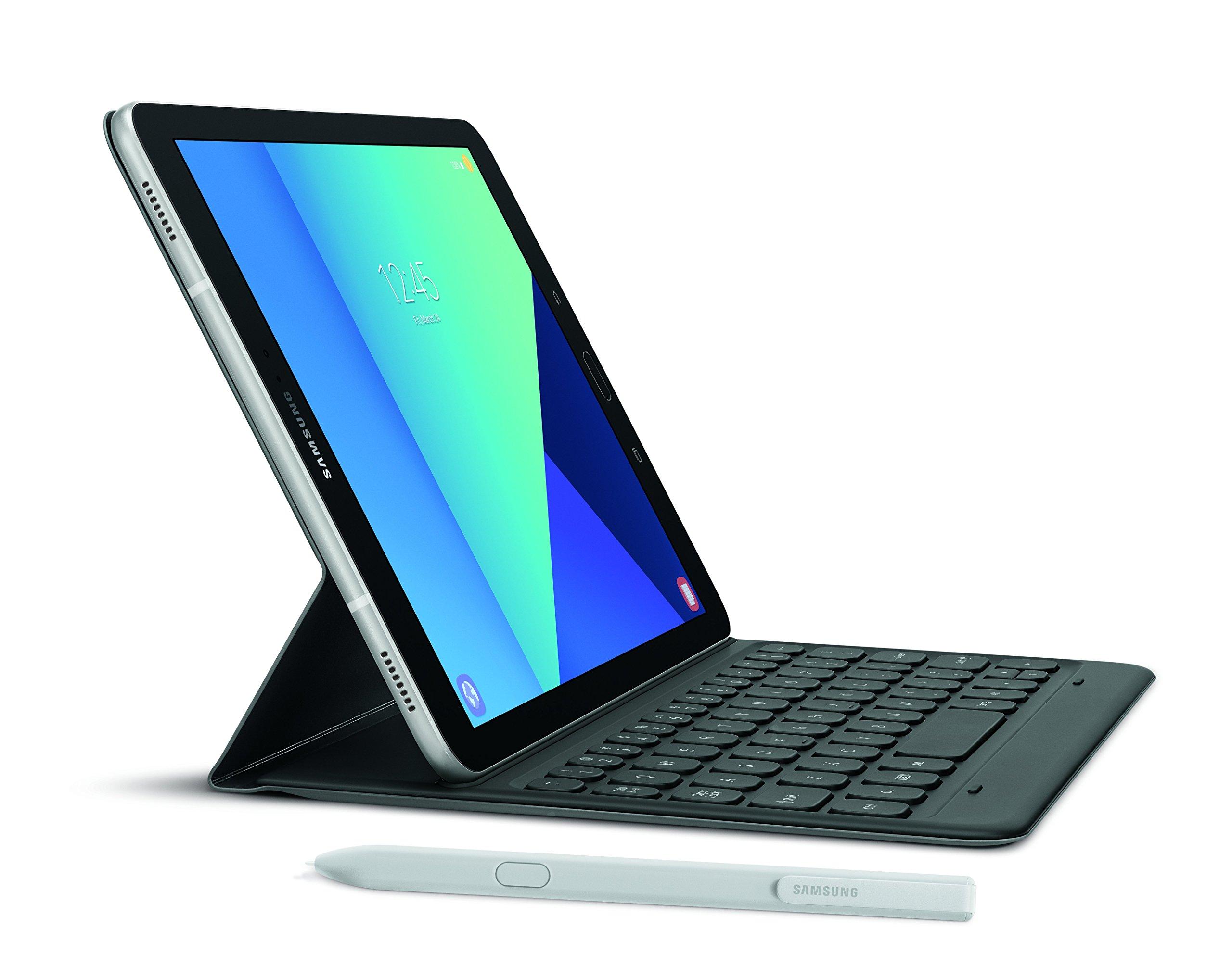 Samsung Galaxy Tab S3 9.7-Inch, 32GB Tablet (Silver, SM-T820NZSAXAR) by Samsung (Image #1)