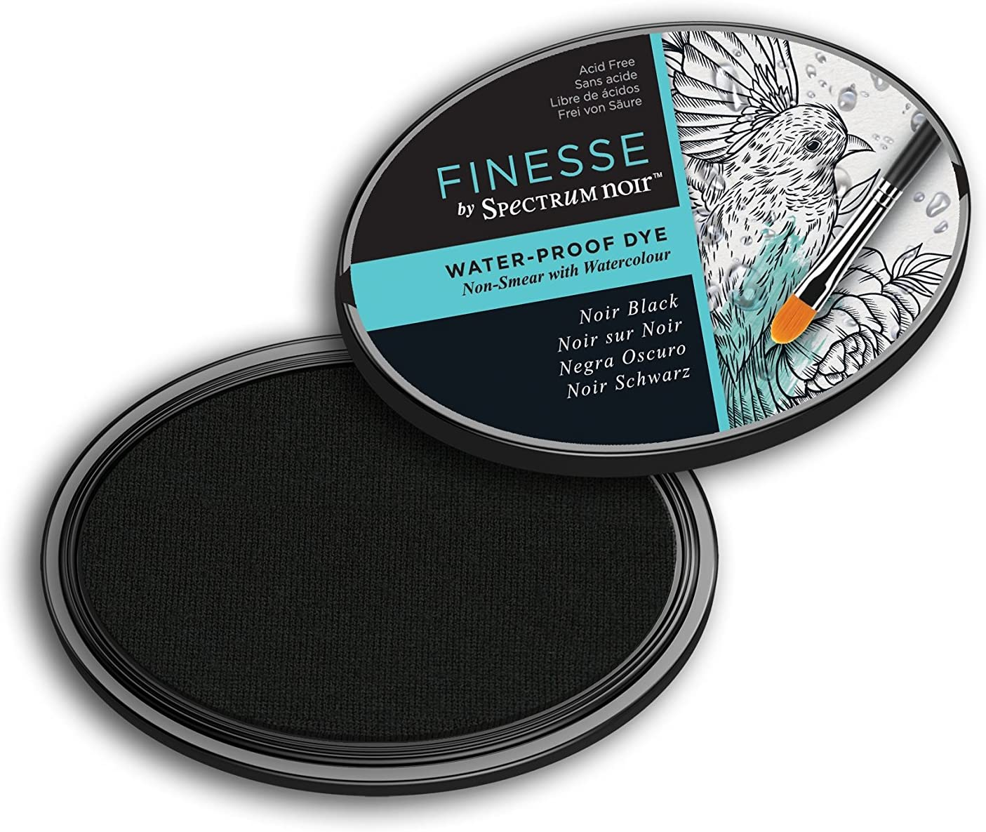 Finesse Water Proof Crafter/'s Companion Spectrum Noir Ink Pad Noir Black