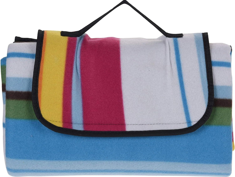 Coperta da picnic in pile con maniglia Bahia Vista termoisolante e impermeabile