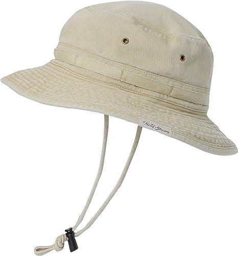 55e6f65dd Amazon.com: Field & Stream Men's Pigment Dyed Bucket Hat (Khaki ...