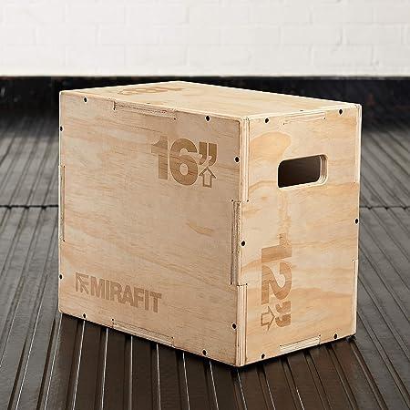 18 x 16 x 12 Mirafit 3in1 Soft Plyo Jump Box