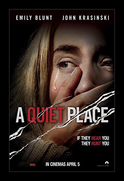 Image result for the quiet place poster