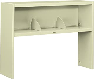 product image for HON 386548NL 38000 Series Stack On Open Shelf Hutch, 48w x 13 1/2d x 34 3/4h, Putty
