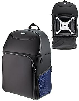 Navitech Rugged Black   Blue Backpack   Rucksack For Drones   Quadcopters  Including The DJI Phantom 6434b8646e