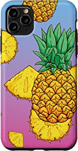 iPhone 11 Pro Max Cute Summer Fruit Design For Tropical Pineapple Lover Case