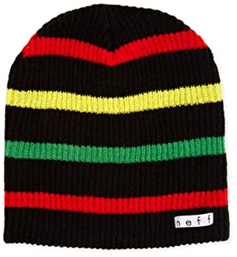 ade2acdcf38 Amazon.com  NEFF Young Men s Daily Stripe Beanie