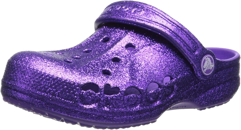 Crocs Kids Baya Hi Glitter Kids Clog